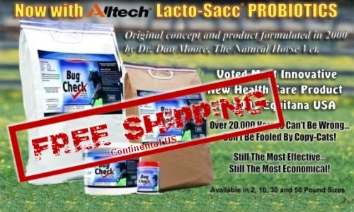 FREE SHIPPING on Bug Check Products! Click Here