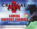 CriticalCare <br>Founder/Laminitis Formula <br> New 4X Formula! <br>(6.6 Pound) 100-Day Supply<br>$150.00 Savings