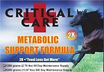 Critical Care Metabolic Support <br>New 2X Formula!<br> (2.78 lbs.)<br>60-DaySupply
