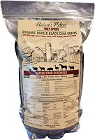 Nature's Helper Organic Whole Black Chia Seeds (5-Pound Bag) Choice Of Flavor & Shipped Free*