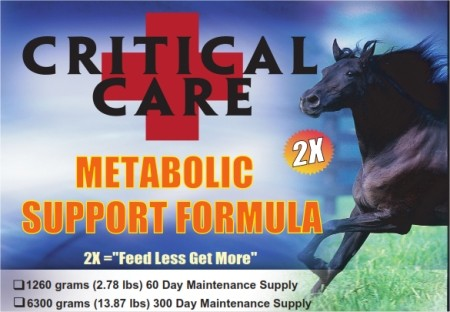 Critical Care Metabolic Support <br>New 2X Formula!<br> (13.87 lbs.)<br>300-DaySupply
