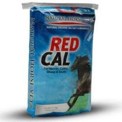 RED CAL<br>(20-25 Pound Bags)<br><b>SAVE ! $15.00 a Bag
