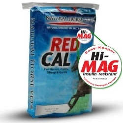 RED CAL Hi-Mag <br>(10x25 Pound Bags)<br><b>SAVE ! $10.00 a Bag