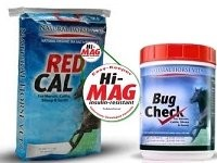RED CAL 25LB. Hi-Mag + BUG CHECK 2LB. Combo (Special w/ Automatic Free Shipping!)