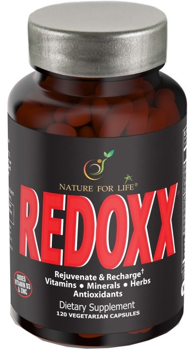 REDOXX (Single)<br>with Free Shipping*<br>Antioxidants • Trace Minerals • Herbal Complex • Vitamins & More